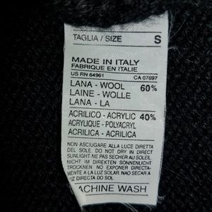 Sisley Sweaters - Sisley Wool Sleeveless Sweater Zipper Shoulders